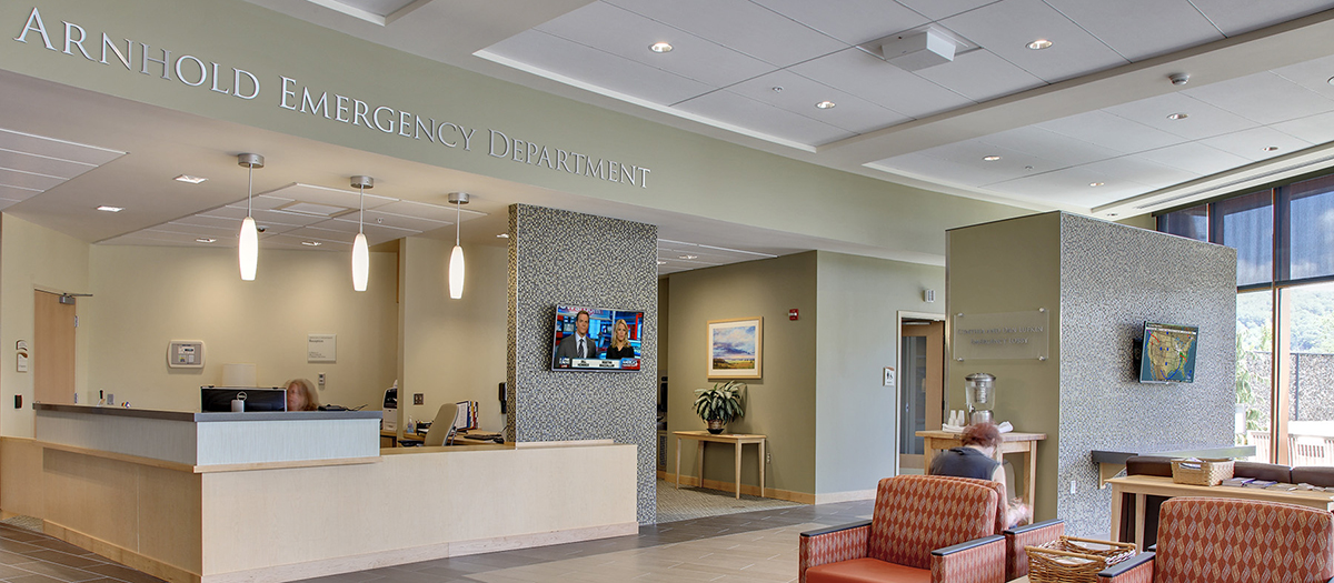 Arnhold Emergency Department at New Milford Hospital