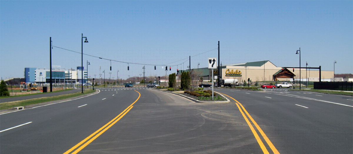 Rentchler Field & Cabela's Intersection Improvements and Site Preparation in East Hartford, CT