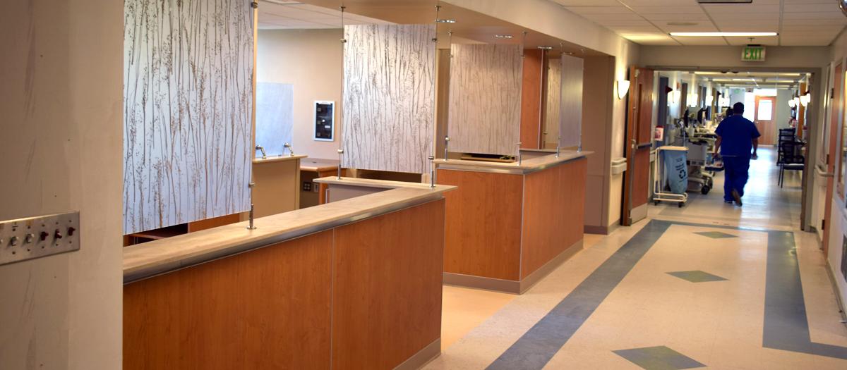 Charlotte Hungerford Hospital 5th Floor Renovations in Torrington, CT