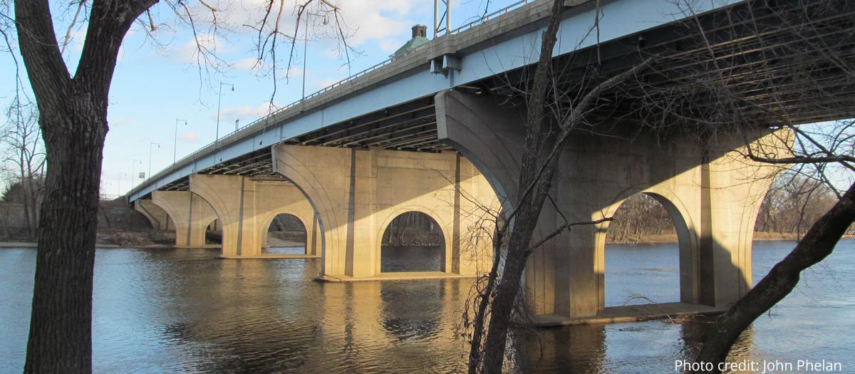Founders Bridge in Connecticut