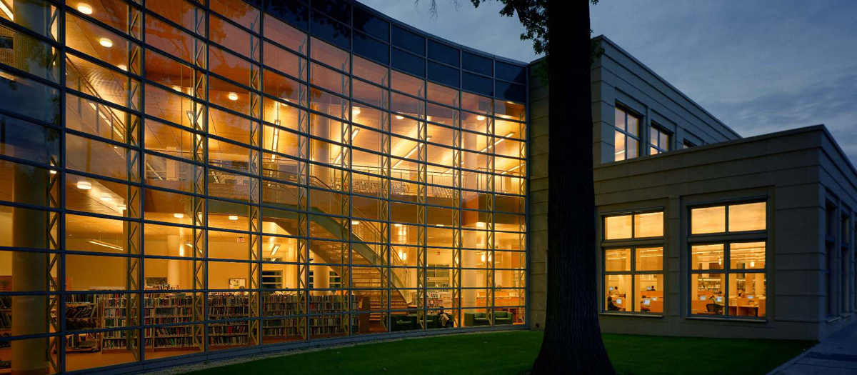 The Greenwich Library Master Building Program in Greenwich, CT