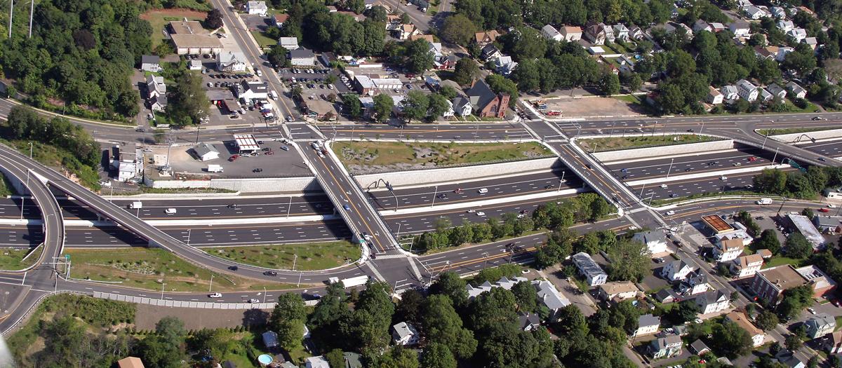 New Haven Harbor Crossing Corridor Improvements in New Haven, CT