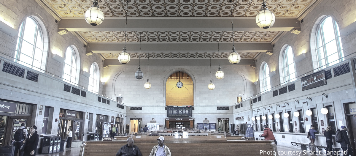 Union Station in New Haven, CT
