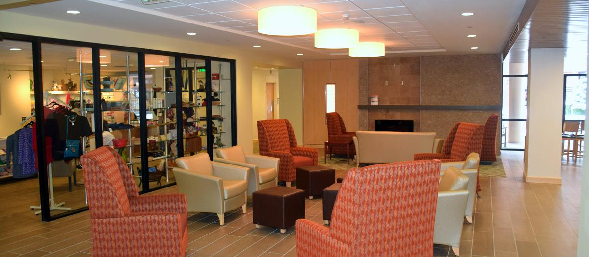 New Milford Hospital Lobby/Gift Shop Renovations in New Milford, CT