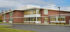 Saxe Middle School in New Canaan, CT