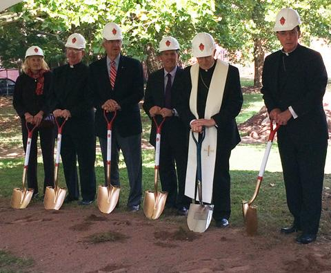 Groundbreaking at Saint Joseph's Cathedral