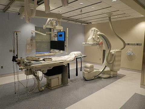 The St. Mary's Hospital Cath Lab in Waterbury, Connecticut