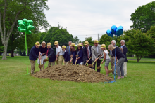 Saxe Middle School Groundbreaking Ceremony