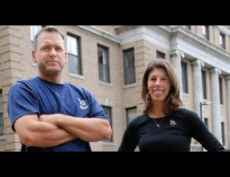 Jim Perazzella and Christina Oneglia Rossi of O&G