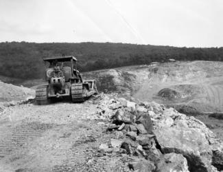 Thomaston Dam Construction after the Flood of 1955