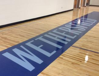 Wethersfield High School Gym built by O&G